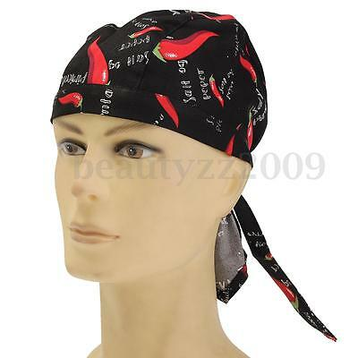 New 4 Style Cotton Pirates Chef Hat Kitchen Cooking Cap Comfortable Adjustable
