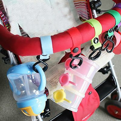 AU Seller 2 pcs one-pair pram stroller hooks hangers  brand new