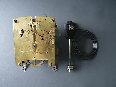 Vintage Smiths mantel clock movement and chime for repair or spares