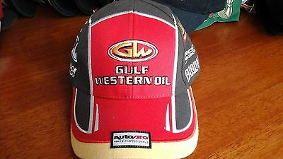 HTF Brand New Gulf Western Oil Lucas Dumbrell Racing V8 Supercars Red Cap