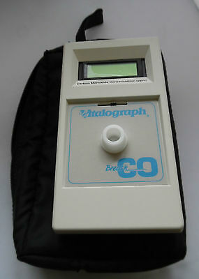 Vitalograph Breath CO Carbon Monoxide Monitor