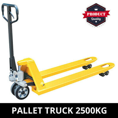 Pallet Truck 2500KG Industrial Quality Hand Pallet Jack Truck Trolley 680mm wide