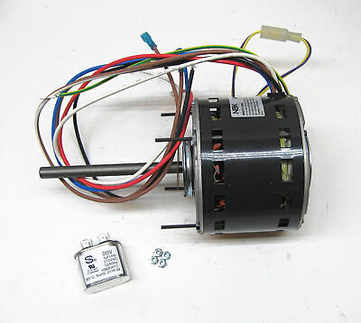 Furnace Air Handler Blower Motor 1/3 HP 1075 RPM 115 Volt 3 Speed for Fasco D727
