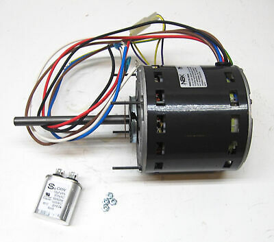 Furnace Air Handler Blower Motor 3/4 HP 1075 RPM 230 Volt 3 Speed for Fasco D729