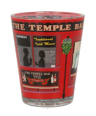 Loose Shot Glass With Temple Bar Design