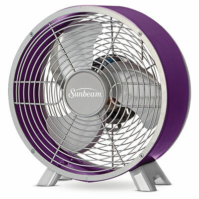 "Sunbeam Designer Series Retro 9"" Table Fan"