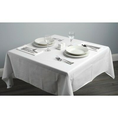 Table Cloth White Tablecover Oilcloth Restaurant Commercial