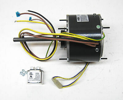 AC Air Conditioner Condenser Fan Motor 1/5 HP 1075 RPM 230 Volts for Fasco D906