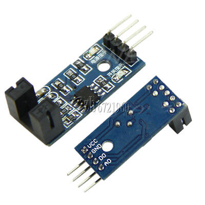 5PCS SLOT TYPE IR Optocoupler Speed Sensor Module LM393 for Arduino