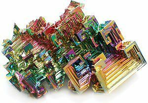 Bismuth Crystal - Mineral Specimen, Teaching Tools, Geology Fun