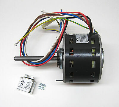 3587 1 2 hp 1075 rpm 115 v 3 speed furnace blower fan motor furnace air handler blower motor 1 6 hp 1075 rpm 115 volt 3 speed for