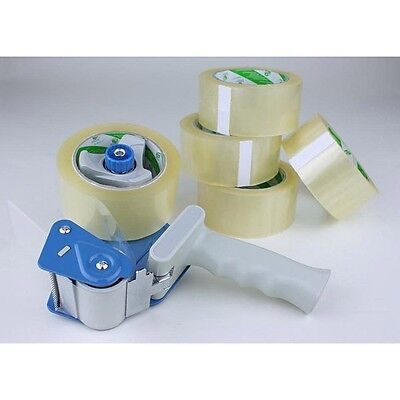 5 Rolls Of Heavy Duty Packing Carton Box Tape 2.0 mil (51 mic) 2 in x 110 Yards