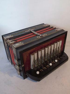 Vintage Melodeon Parsifal German democratic Republic 10 key FREE UK P & P