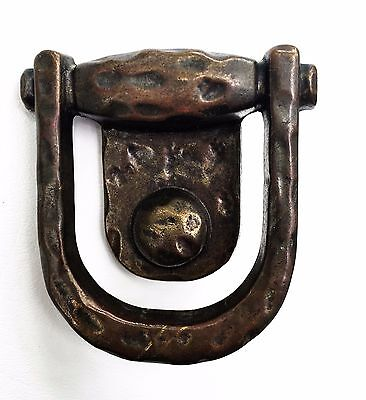 "1 3/4"" center Rustic Vintage Hardware Brass Cabinet Knob Drawer Pull Ring"