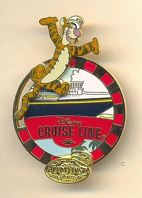 Disney Tigger DCL Cruise Line LE Slider Pin New