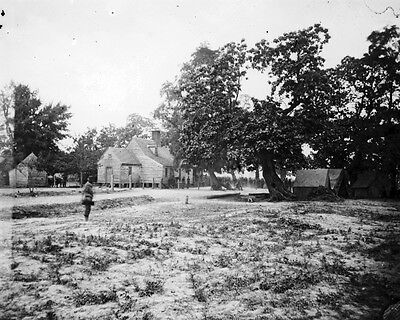 New 11x14 Civil War Photo: Burnett House on the Battlefield of Cold Harbor