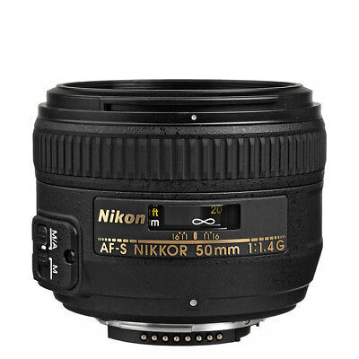 NEW Nikon AF-S NIKKOR 50mm f/1.4G Lens 1 Year Warranty