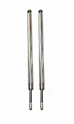 "Harley 41mm Fork Tubes 26.25"" Hard chrome"