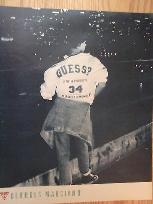 1985 Guess Official Products 34 by George Marciano Advertisement