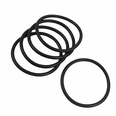 93mm x 100mm x 3.5mm Rubber Sealing Washers Oil Filter O Rings Black 20 Pcs