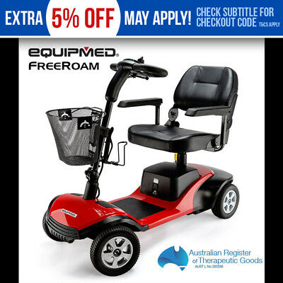 Brand New Equipmed Electric Mobility Scooter Motor Battery Foldable Portable
