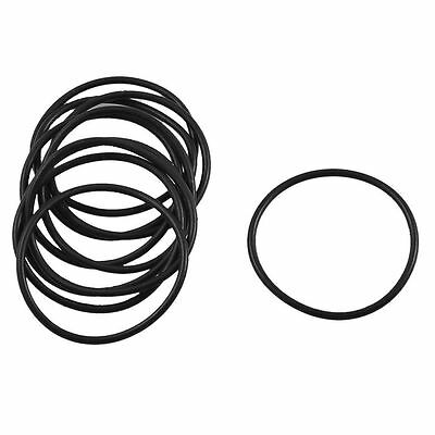 10 Pcs Black Rubber Oil Seal O Ring Sealing Gaskets 29mm x 26mm x 1.5mm