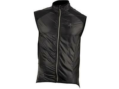 Capo Cycling Pursuit Lightweight Wind Vest, Black, XS