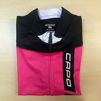 Capo Cycling Ceramica Vest, Pink, Sizes: S, M, L, XL, 3XL