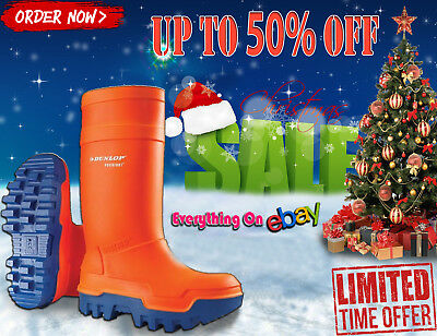 NEW YEAR SALE 50% OFF Dunlop Purofort Thermo+ Full Safety Shoes E662343