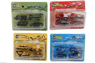 24 x 4 pack  workforce cars trucks die cast 60mm x 23mm bulk wholesale lot