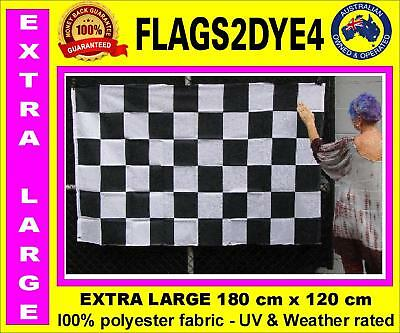 black white flag chequer flag chequered flag car racing flag extra Large flag