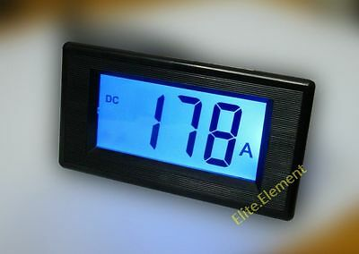 DC 400A Positive Negative Current Minus AMP Meter Battery Monitor Updated Meter