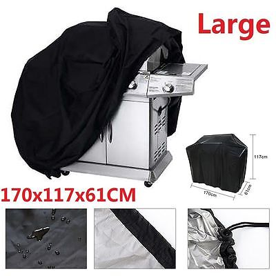 UK Large BBQ Barbeque Cover Outdoor Waterproof Rain Barbecue Grill Gas Protector