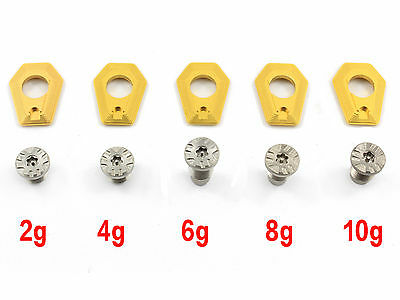 Golf Weight with Screw Replacement For Taylormade M2 Driver 2g/4g/6g/8g/10g