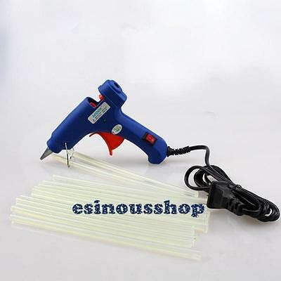 20W With Switch High Power Electric Heating Hot Melt Glue Gun Sticks Selectable