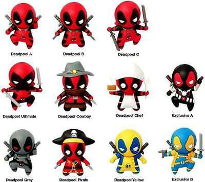 Marvel Deadpool 3D Blind Bag Keyring