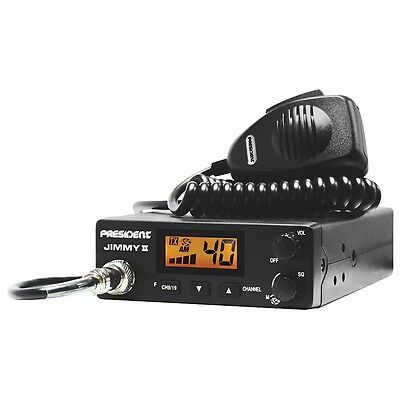 Cb Radio Mobile President JIMMY 2 ASC AM ONLY UK AND EUROPE