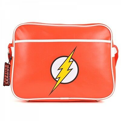 DC The Flash Messenger Bag Flash Logo Shoulder Bag