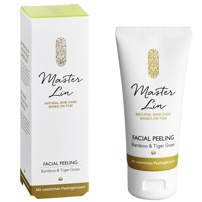[65€/100ml] Master Lin Bamboo & Tiger Grass Facial Peeling 60ml