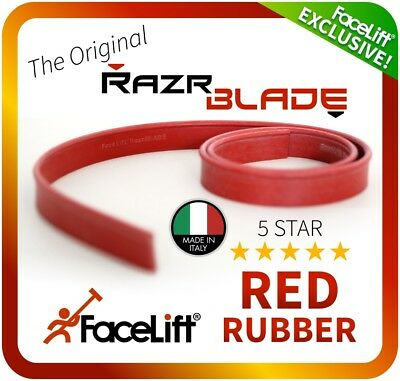 FaceLift® RazrBLADE RED Rubber