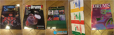 Various Drum Tuition Books Learn Chilli Peppers // Free Shipping