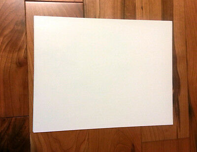 """White Waterslide Decal Paper - Letter Size 8.5 X 11"""" 1 Sheet"""