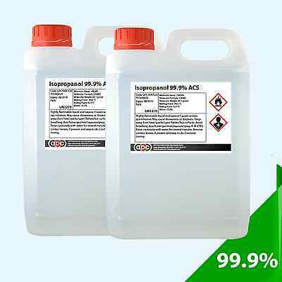 Isopropanoll 99.9% Pure Isopropyl Alcohol 10 Litres *High Purity and Quality*
