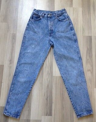 Chic Stonewashed Jeans 1980s Size 14 6 High Waisted