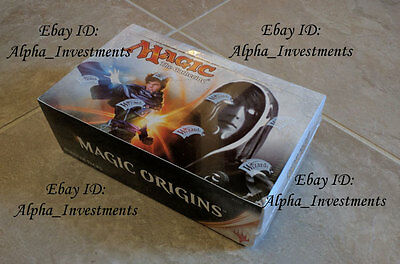 MTG Magic Gathering Origins Booster Box SEALED Booster Pack Box ENGLISH
