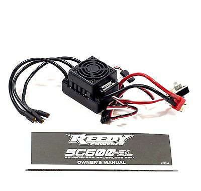 TEAM ASSOCIATED REEDY SC10 T4.2 B4.2 XP SC600 Brushless esc 2S 3s Lipo