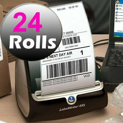 24 Rolls 4x6 220/Roll Direct Thermal Shipping Labels 1744907 Compatible Dymo 4XL