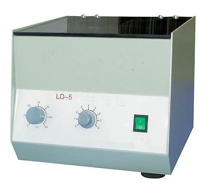 Electric Tabletop Low Speed Lab Centrifuge LD-5 4000rpm 8*50ml 220V