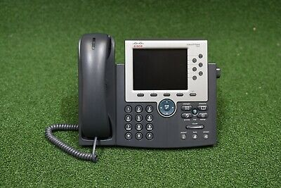CISCO CP-7945G Voip Two line Color Display IP Phone POE  - 1 YEAR WARRANTY