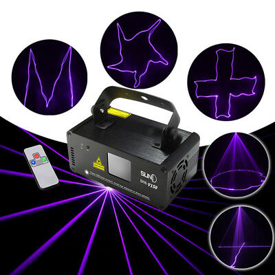 SUNY Laser Stage Light Lighting Projector DJ Disco Xmas Party home Club DMX lamp